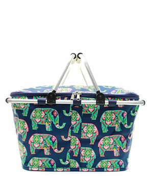 Insulated Picnic Basket Elephant