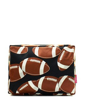 Football Cosmetic Bag