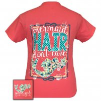"Girlie Girl ""Mermaid Hair"" 2x Tee"