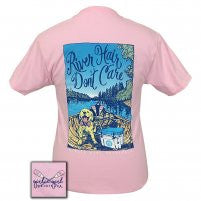 "Girlie Girl Originals ""River Hair Puppies"" T-shirt-2x"