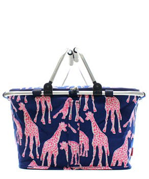 Insulated Picnic Basket Giraffe