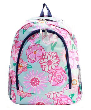 Flower Backpack - 2 Color Choices