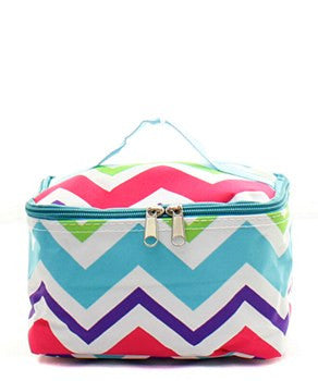 Multi-Chevron Small Cosmetic Bag - 2 Color Choices – Angela Miller ... 741e2cf6c8340