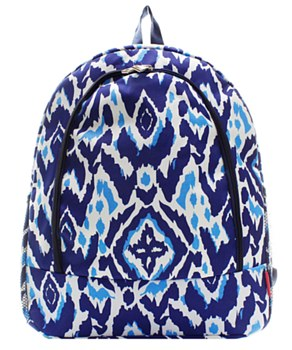 IKAT Print Backpack