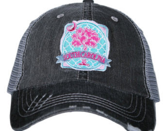 Katydid South Carolina Palmetto Moon Patch Trucker Hat