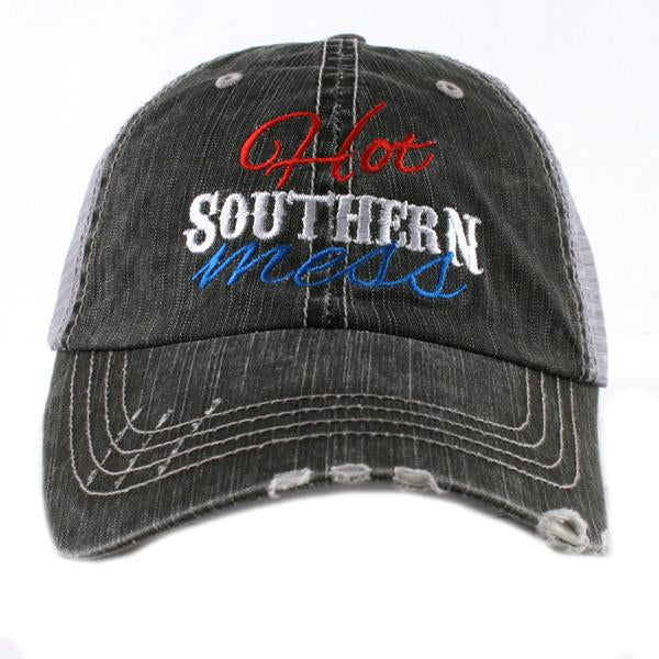 Katydid Hot Southern Mess Trucker Hat
