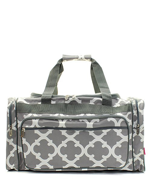 "23"" Geometric Print Duffel - 2 Color Choices"