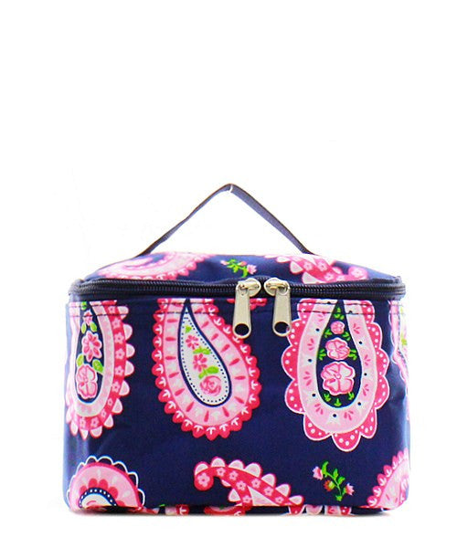 Paisley Print Small Cosmetic Bag