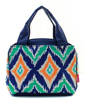 Lunch Tote IKAT - 2 Color Choices