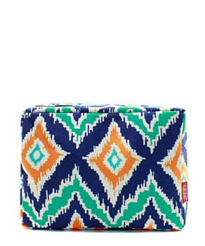 IKAT Cosmetic Bag - 2 Color Choices