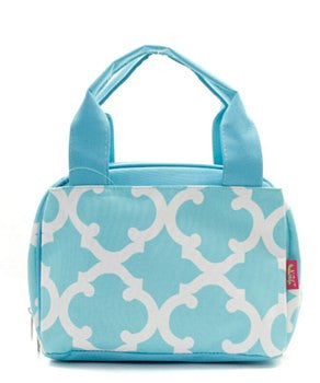 Lunch Tote Geometric - 2 Color Choices