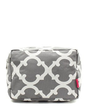 Geometric Cosmetic Bag - 4 Color Choices