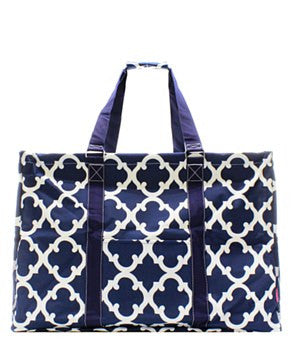 Utility Tote Extra Large - Geometric Print - 3 Color Choices