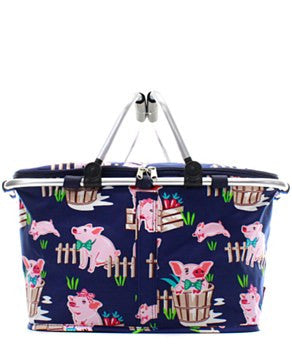 Insulated Picnic Basket Piglet