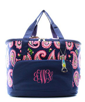 Insulated Cooler Paisley