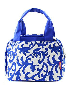 Lunch Tote Damask - 4 Color Choices