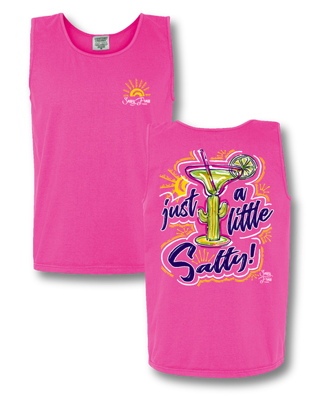 "Sassy Frass ""Margarita Just a Little Salty""  Tank Top"