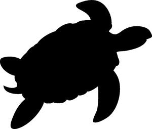 Sea Turtle Style #1 Decal
