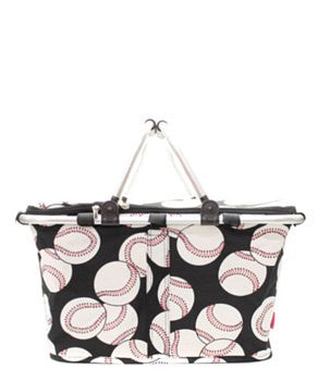 Insulated Picnic Basket Baseball