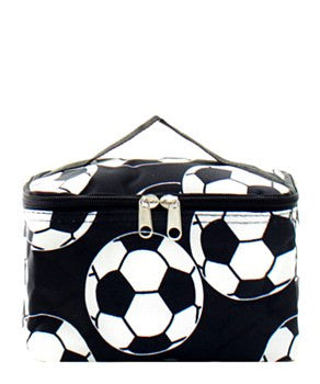 Soccer Small Cosmetic Bag