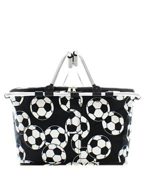 Insulated Picnic Basket Soccer Ball