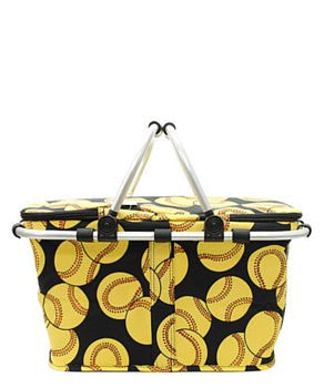 Insulated Picnic Basket Softball