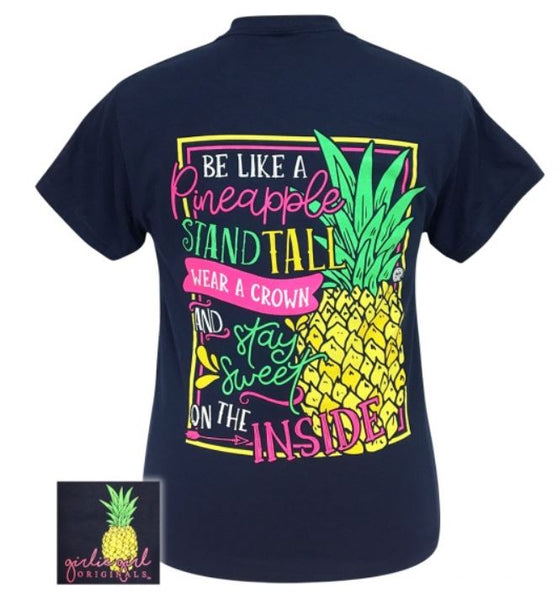 "Youth Girlie Girl ""Sweet Pineapple"" Tee"