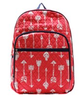 Arrow Quilted Backpack Large
