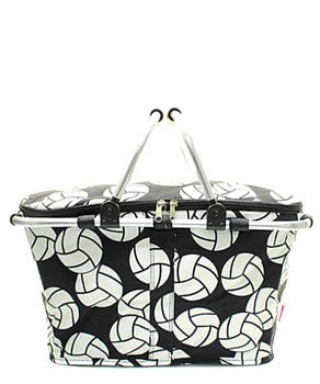 Insulated Picnic Basket Volleyball