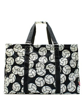Utility Tote Extra Large - Volleyball Print