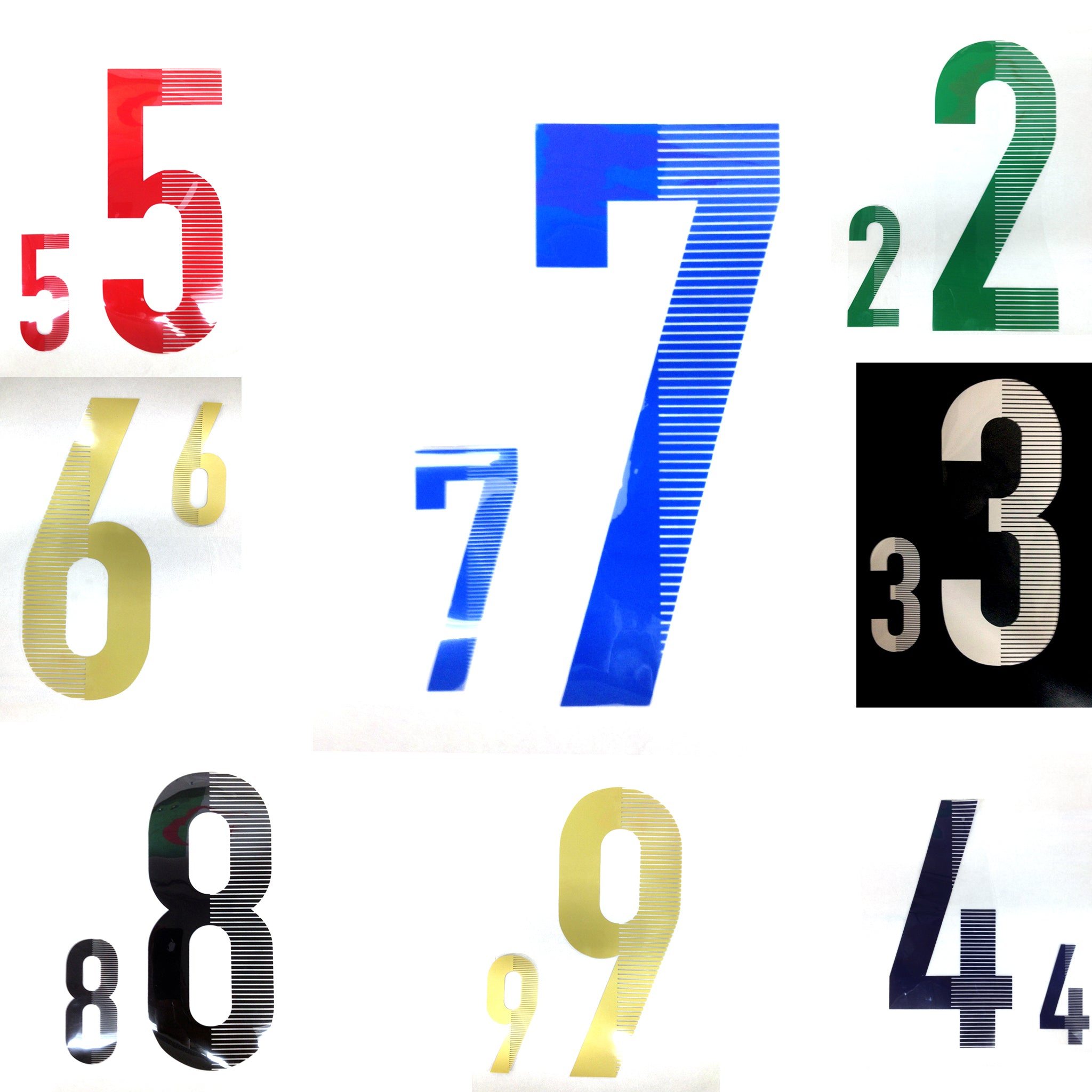 Numbers on Uniforms