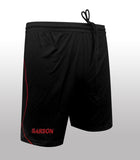 Bastia Shorts Black/Red