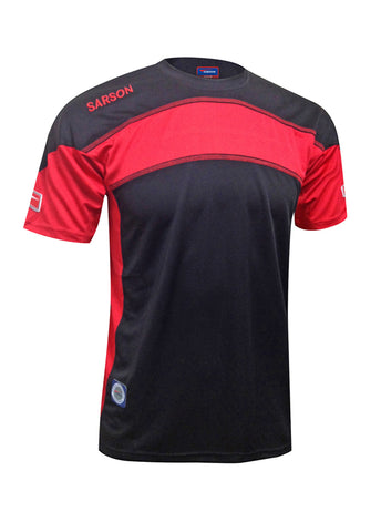 Brasilia Jersey Black/Red