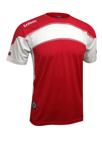 Brasilia Jersey Red/White