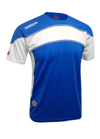 Brasilia Jersey Royal/White