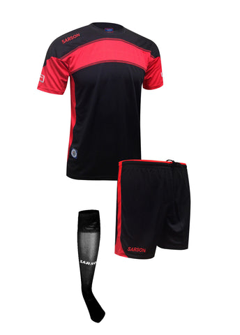 Brasilia Set Black/Red
