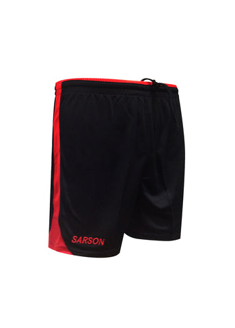 Brasilia Shorts Black/Red