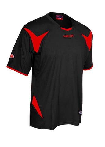 Merca Jersey Black/Red