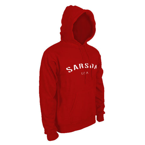 Keta Hooded Sweatshirt Red