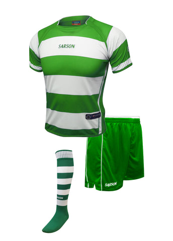 Rio and San Paolo Set Kelly Green/White