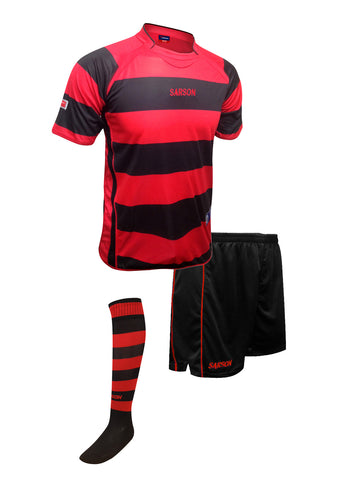 Rio and San Paolo Set Red/Black