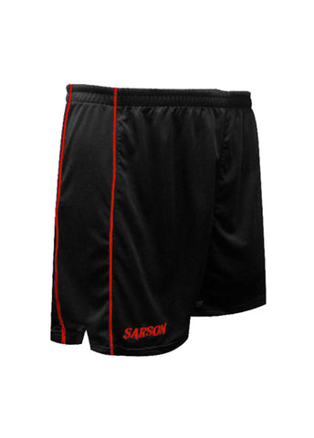 San Paolo Shorts Black/Red