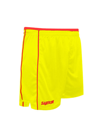 San Paolo Shorts Yellow/Red