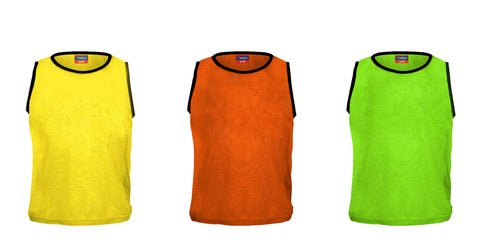 Santos Vest Training Bibs | 6 or 12 Pack