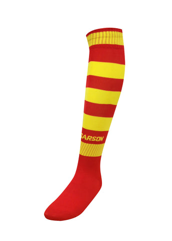 Hoop Socks Red/Yellow