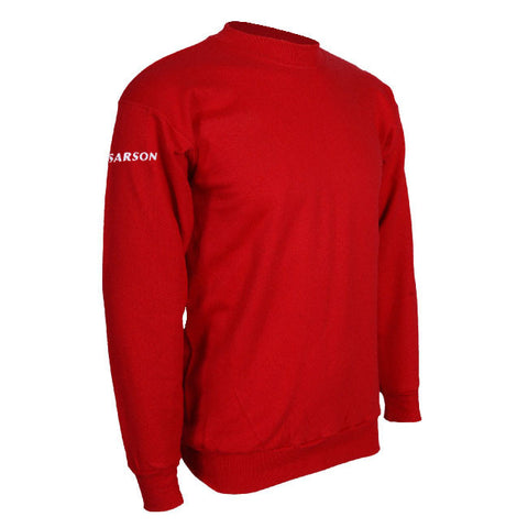 Sydney Crewneck Sweatshirt Red