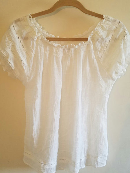 Mystree White blouse size S