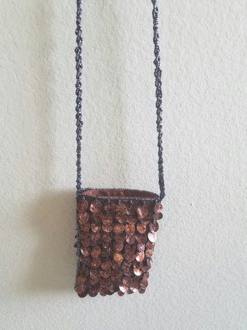 Beaded Shell Purse