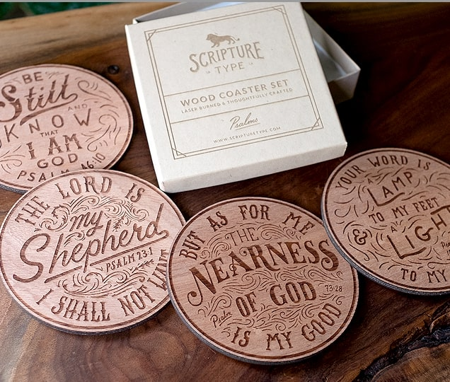 Bible Scripture Coasters