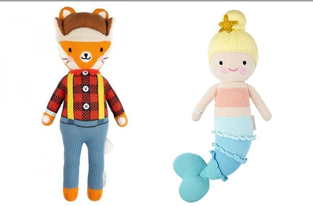 Cuddle+Kind Christian Handcrafted Dolls Plush Animals | 1 Doll=1- meals